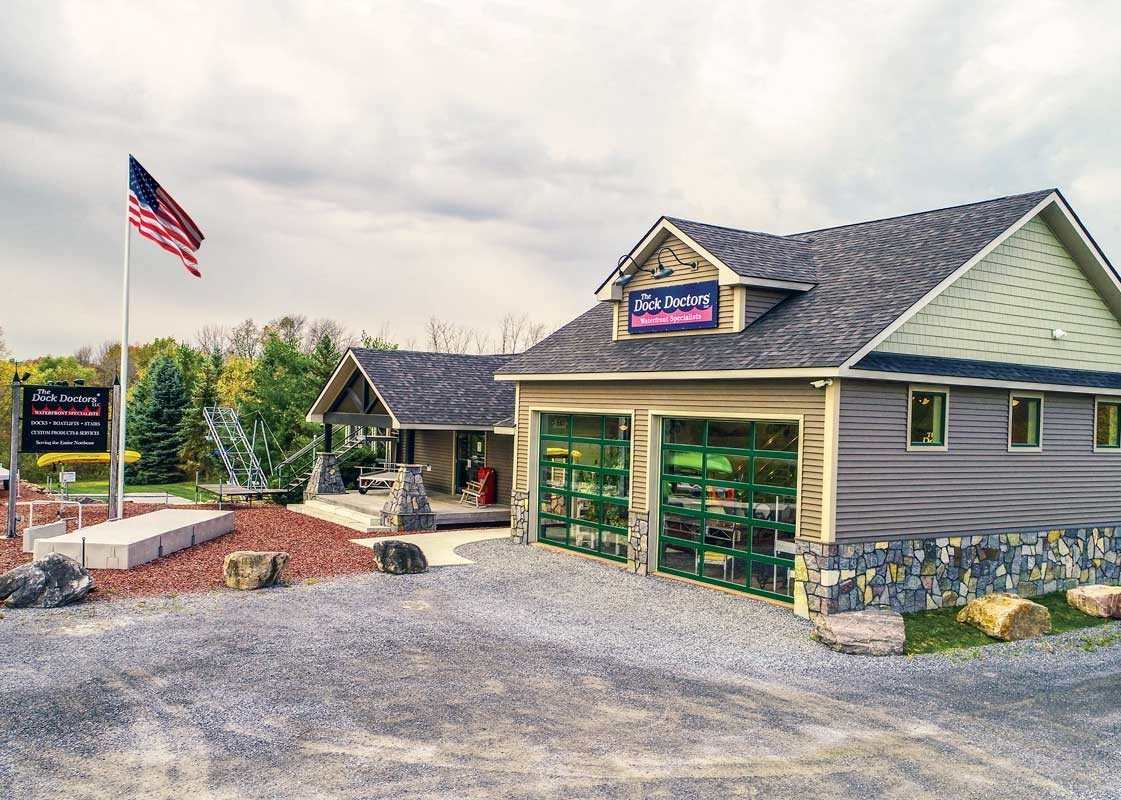 Our Ferrisburgh Vermont year-round showroom and outdoor display