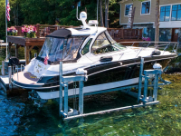 24,000 lb. capacity ultimate boat lift with oil bath upgrade