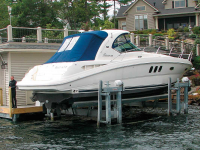 32,000 lb. capacity Ultimate Boat Lift which comes in modular sections for easier delivery