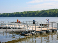 Fishing platform for the Town of Bethlehem, NY