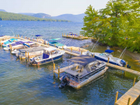 Commercial pile dock for a homeowners association, Lake George, NY