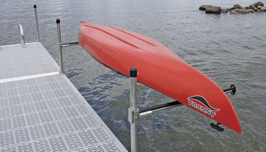 Dock Mounted Kayak Storage Rack About Dock Photos Mtgimage Org