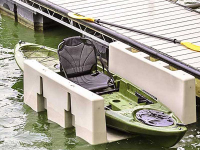Accommodates kayak and other crafts up to 34