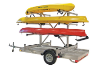 5' x 10' Trailer with 8-craft rack SALE PRICE (while supplies last)