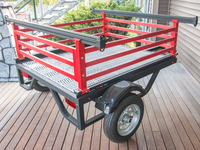 We can powder coat your trailer to match your vehicle