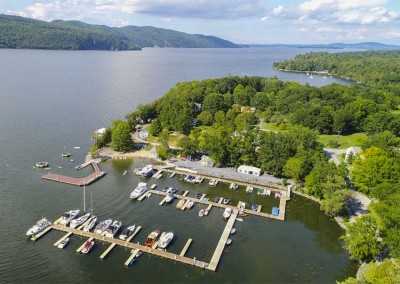 Complete renovation of existing resort marina on Lake Champlain in Vergennes, Vermont.