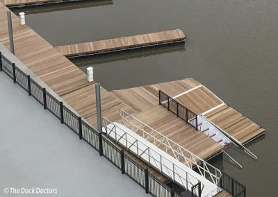 Kayak Launch at the new Mohawk Harbor in Schenectady, NY