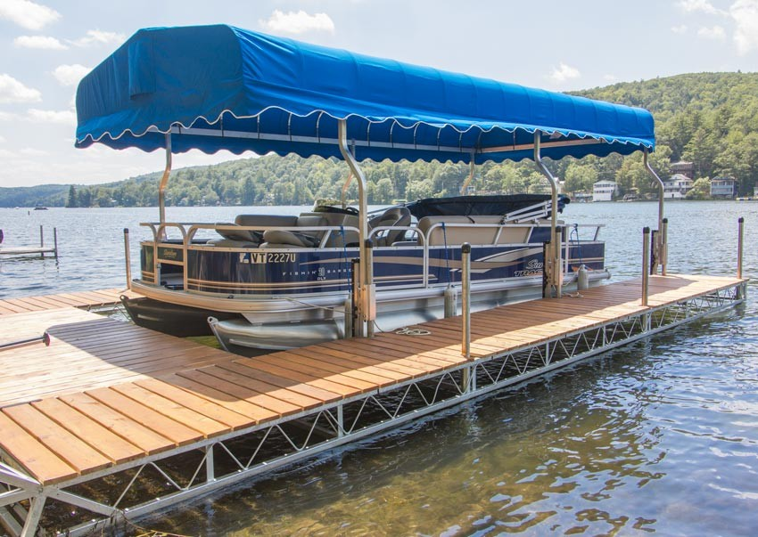 Articulating Amp Lift Docks Photo Gallery The Dock Doctors