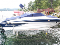 Hydraulic boat lift - we deliver boat lifts to the Lake George and Adirondack regions