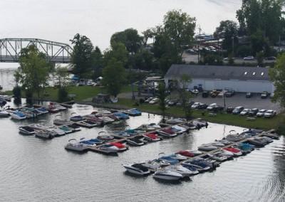 Saratoga Boat Works Marina, Saratoga Lake, NY