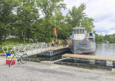 Commercial Ferry Dock access at a State Park