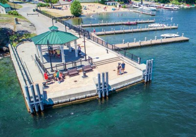 Pier revitalization project and commercial day use pile docks
