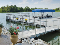 Connect-A-Dock 2000 series modular floating docks