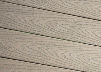 Optional Trex decking - extremely weather resistant composite material