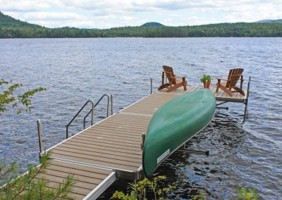Medium Duty Aluminum Leg Dock