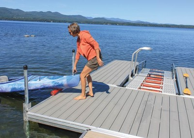 Dock & Launch - Use as an independent dock or part of a complete system