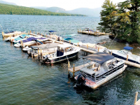 Commercial pile docks at a homeowners association - Lake George, NY