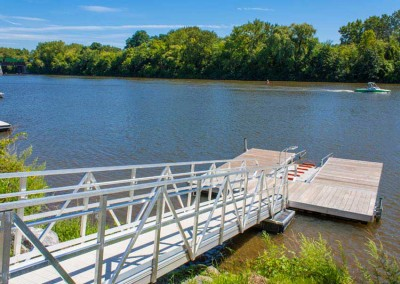Commercial Dock and Launch, Freeman's Bridge, East Glenville, NY – Mohawk River