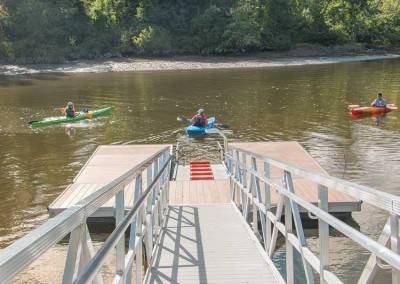 Kayak / canoe launch for the Town of Bethlehem in Selkirk, NY