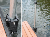 Spud pole anchor