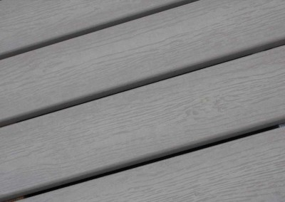 Composite decking is strong and lightweight