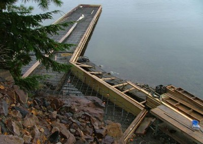 Concrete dock restoration