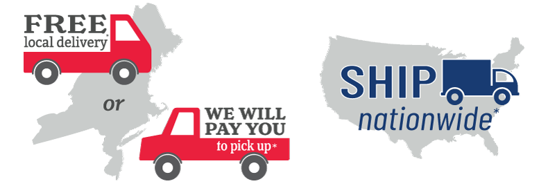 free delivery within the northeast