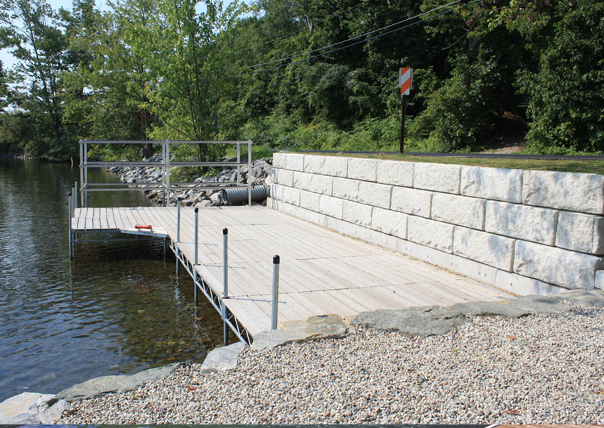 Sline Retaining Walls The Dock